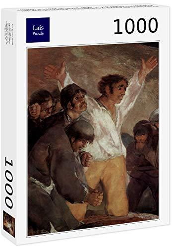 Lais Puzzle Francisco de Goya y Lucientes - Tiroteo de los insurgentes el 3 de Mayo de 1808 en Madrid, Detalle 1000 Piezas