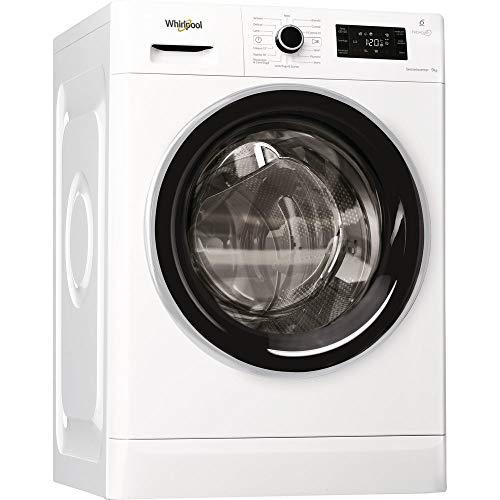 Whirlpool WFR629GWKS IT lavatrice Libera installazione Caricamento frontale Bianco 9 kg 1200 Giri/min A+++