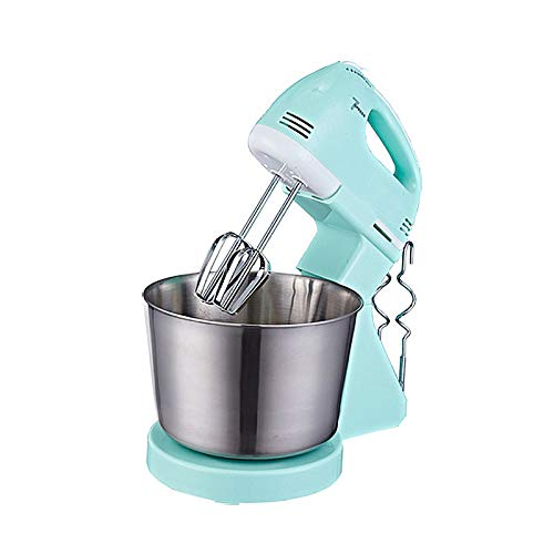 yqs Batidor Varillas 7 Velocidad es Electric Cake Batter Stand Mixer Food Mixing Machine Handheld Mini Whisk Eggs Beater Blender Whipping Cream Dough
