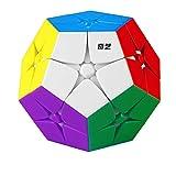 CuberSpeed Qiyi 2x2 Kilominx stickerless Speed Cube 2x2 Megaminx stickerless Puzzle