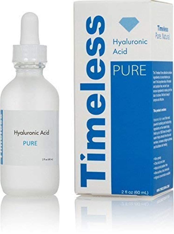 Timeless Skin Care オリジナルヒアルロン酸セラム100%ピュア2オズ。 2オンス