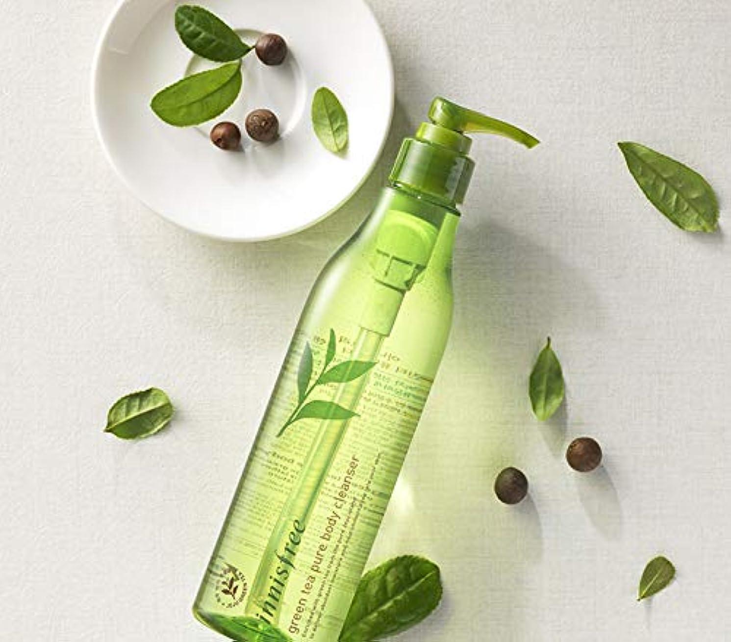 微妙毛皮解き明かす[イニスフリー.innisfree]グリーンティーピュアボディクレンザー300mL/ Green Tea Pure Body Cleanser
