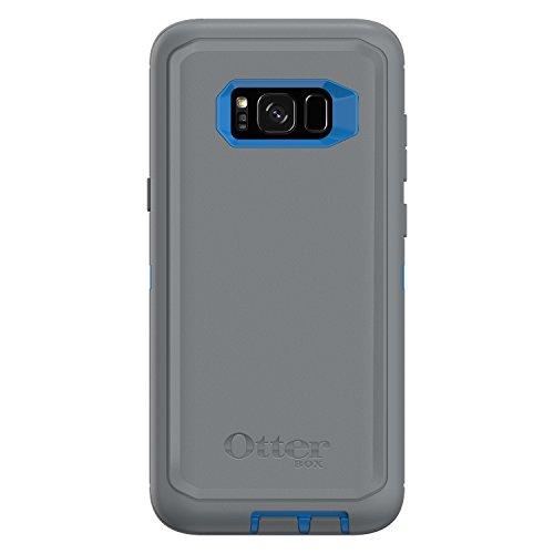 OtterBox Defender Series SCREENLESS Edition for Samsung Galaxy S8+ - Frustration Free Packaging - Marathoner (Cowabunga Blue/Gunmetal Grey)