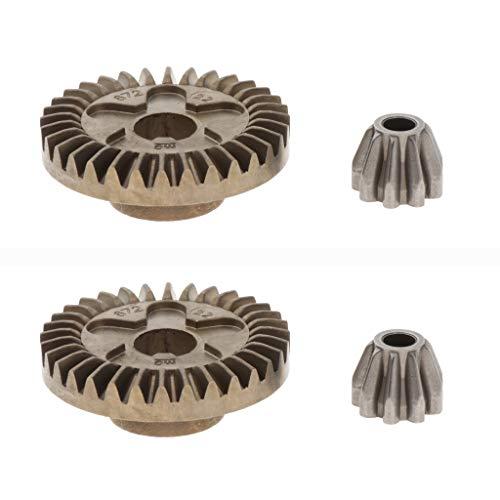 harayaa 2X Engranajes en Espiral de Acero para Reemplazo de Herramientas Eléctricas