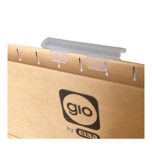 Visor superior para carpetas colgantes Gio by Elba