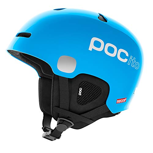 POC POCito Auric Cut Spin Helmet, Fluorescent Blue, XX-Small