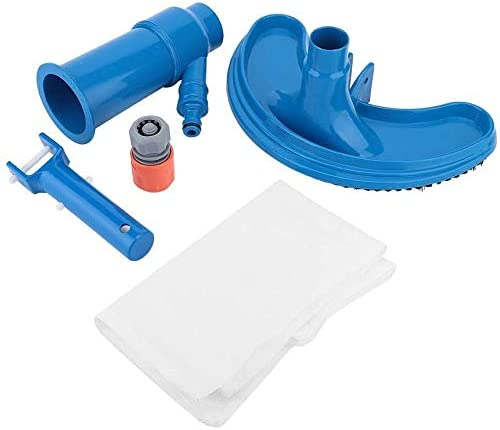 5 in 1 At the price of surprise Semi-Circular Blue Vacuum Cleaning Head unisex Swimming Bru Pool