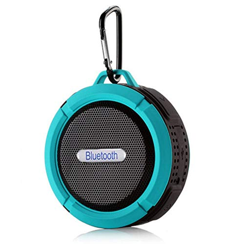 Altavoces Bluetooth portátiles, Altavoz del Bluetooth de la Ducha a Prueba de Agua al Aire Libre, Ventosa de Mini Altavoz de Graves, Alquiler de teléfono móvil pequeño Altavoz