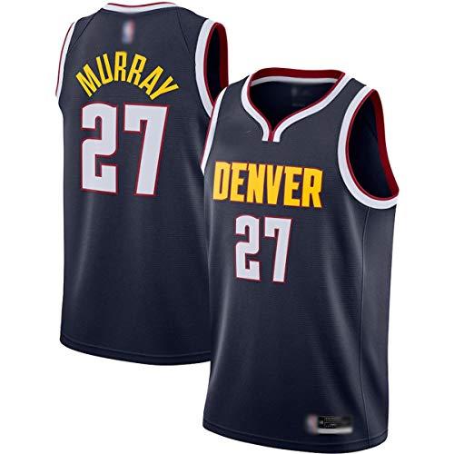 BVFDW Jersey de baloncesto al aire libre Jamal Denver NO.27 Marina, Nuggets Murray 2020/21 camisa para hombres - edición icono