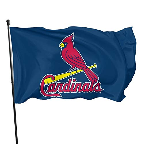 Fremont Die St-Louis-Cardinal&s Flag 3x5 ft Banner Flags Decorative for Home Garden Flag Polyester Fabric UV Protected