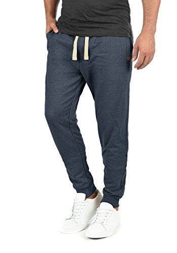 Blend Tilo Herren Sweatpants Jogginghose Sporthose Mit Fleece-Innenseite Und Kordel Regular Fit, Größe:XL, Farbe:Navy (70230)
