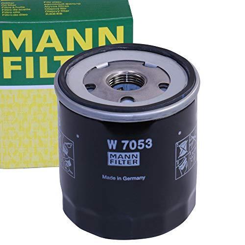 Original MANN-FILTER Ölfilter W 7053 – Für PKW und Nutzfahrzeuge