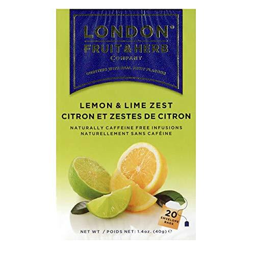 ロンドンフルーツ&ハーブ レモン&ライムゼスト (20パック入り) ハーブティ ティーバッグ イギリス