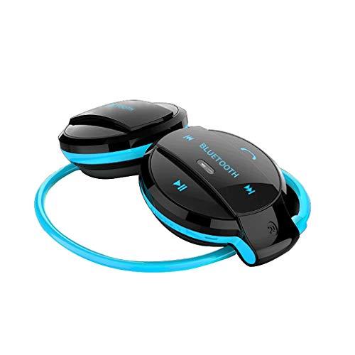 Auricular Auriculares Bluetooth Inalambricos Impermeable Deporte Binaural con Gancho De Oreja De Clip Circumaurales Reducción De Ruido con Micrófono Inalámbrico Control Remoto Integrado Estéreo