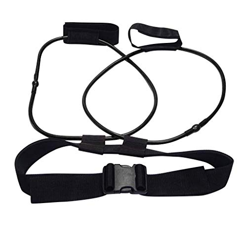 Lowest Price! Gowersdee Fitness Training Resistance Belt Leg Strength Training Muscle Belt Exercise ...