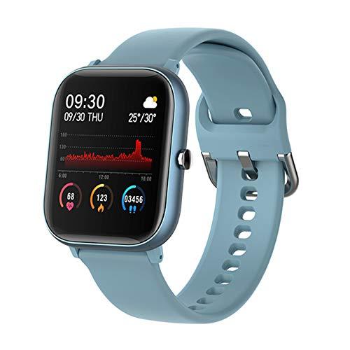 Gulu 2021 Smart Watch Hombres Mujeres Fit Touch Fitness Tracker Presión Arterial Reloj Inteligente Deporte IP67 A Prueba De Agua Smartwatch para Hombres,C