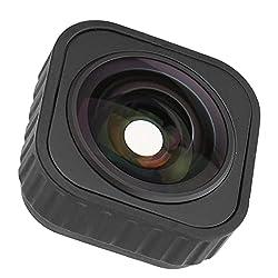 KUIDAMOS Sportkamera-Weitwinkelobjektiv, 155 Grad Bildstabilisierung Weitwinkel-Kameraobjektiv Einfach zu bedienen für Fotografie-Enthusiasten für Sportkameras