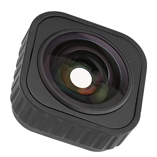 FOLOSAFENAR Weitwinkel-Kameraobjektiv, Bildstabilisierung Sportkamera Weitwinkelobjektiv 155 Grad für Sportkameras für Fotografie-Enthusiasten