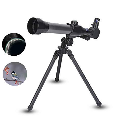 Kindertelescoop met statief, educatief speelgoed voor kinderen, monoculaire telescoop, ruimtetelescoop voor kinderen en beginners