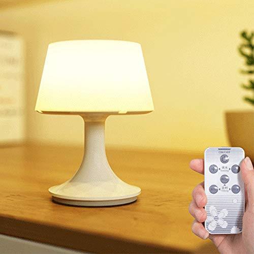 Lámpara de mesa recargable por USB,portátil, inalámbrica,LED para el hogar,lámpara de lectura,para dormitorio y sala de estar,sala de...