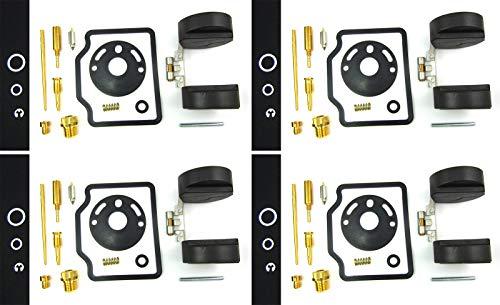 4 x Carb Carburetor Rebuild Repair Kit & Float fit for CB750 CB 750 K4 69-76