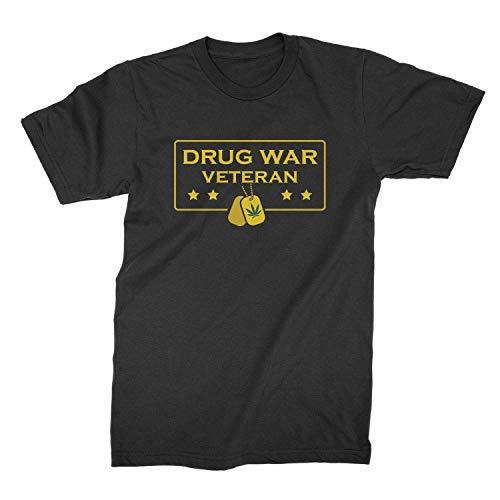 We Got Good Drug War Veteran Shirt Funny Weed Shirts Black
