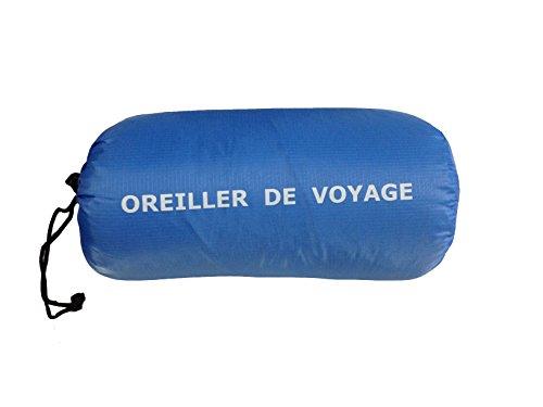 Lestra Oreiller de Voyage Bleu 30 x 40 cm