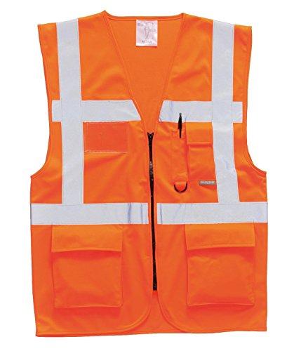 Portwest Sicherheitsweste Berlin S476, Size Small, Orange, 1