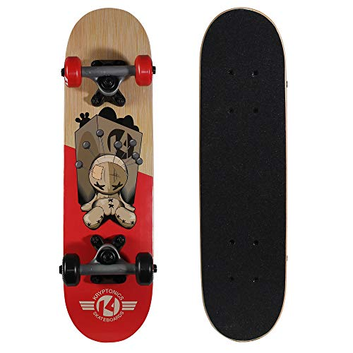 Kryptonics Locker Board 22 Inch Complete Skateboard  PinHead