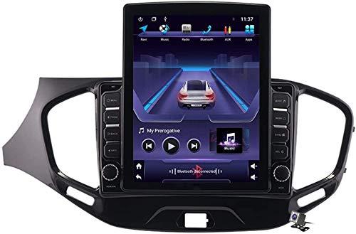 LYHY Écran Vertical de 9,7 Pouces Android 8.1 MP5 Player Navigation à glissière GPS Vesta Cross Sport 2015-2020, Support autoradio stéréo DSP/FM/appels Mains Libres BT/Commande au Volant