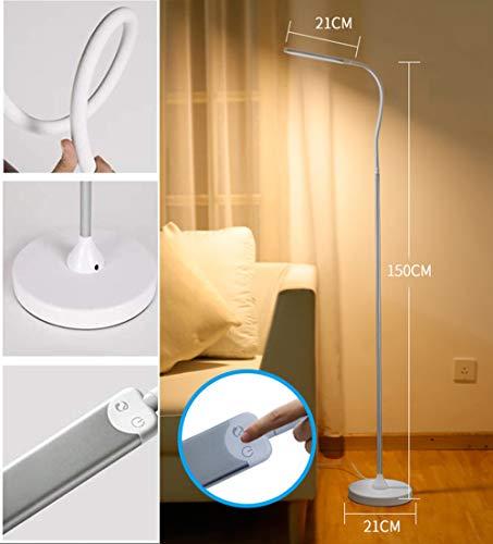 SLM-max staande ledlamp, flexibele zwanenhalslamp, voor kappers/schoonheidssalons, enz.