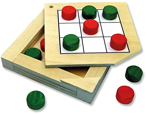 matches21 Tic Tac Toe - Juego de construcción de madera para niños a partir de 10 años
