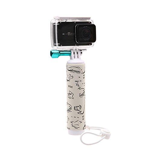 Deylaying sous-Marin Plongée Ordinateur de Poche Bâtons de flottabilité Flottant Grip Rods pour Xiaomi Yi 2 4K 4K+ Caméra