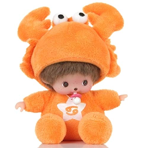 Monchichi Monkiki Cancer Twaalf sterrenbeelden Cartoon Doll Knuffel 15cm