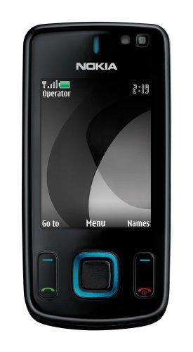 Nokia 6600 slide black/blue (UMTS, GPRS, Lettore Musik, Organizer, Nokia Maps, Fotocamera da 3,2 MP) Cellulare
