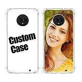 SHUMEI Coque personnalisée pour Motorola Moto G6 Play, cadeau photo personnalisé absorption des...