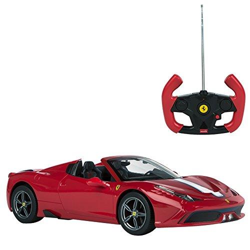 Rastar - Coche teledirigido 1:14  Ferrari 458...