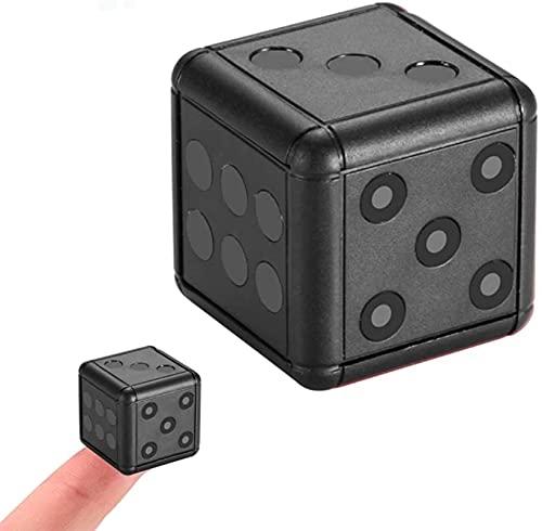 CXSMKP Mini Cámara, Cámara De Seguridad De Visión Nocturna con Micro Videocámara De Alta Definición 1080P HD con Detección De Movimiento para El Secreto del Hogar Y La Oficina