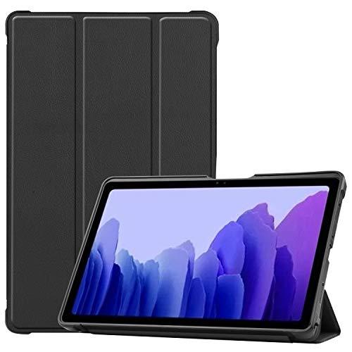 Capa inteligente para Galaxy Tab A7 10,4 polegadas 2020, Uzer de couro sintético leve com função hibernar/despertar automática, suporte dobrável com capa traseira de TPU macio para Samsung Galaxy Tab A7 10,4 polegadas (SM-T500/T505/T507)