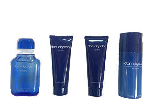 Don Algodón. Set Hombre. Edt 100 Ml Vapo + Gel De Baño + Desodorante + After Shave