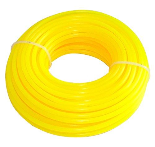 AERZETIX: Hilo de nylon perfil redondo 3mm 15m para desbrozadora C18550