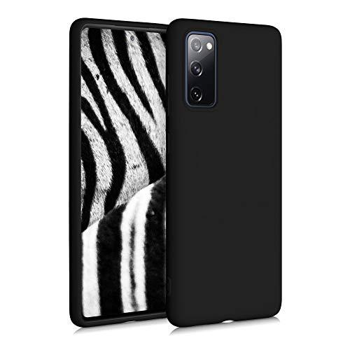kwmobile Hülle kompatibel mit Samsung Galaxy S20 FE - Hülle Handyhülle - Handy Hülle in Schwarz matt