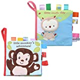 Best Soft Books For Babies - SUNEN Baby Soft Books Cloth Book for Toddlers Review