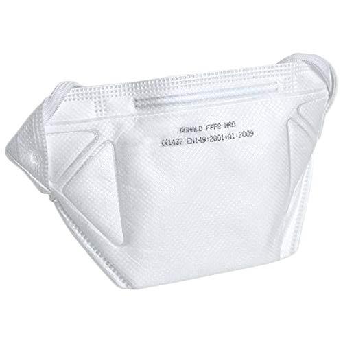 Atemschutzmasken FFP2 (10 Stück), Premium Sicherheitsmasken für zuverlässigen Schutz gegen Staub, Aerosol & flüssige Partikel