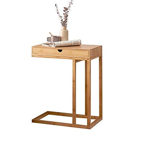Muebles para el hogar, portátil en forma de C, sofá,mesaauxiliar,sala de estar, escritorio para ordenador portátil, bandeja de TV, dormitorio,mesita de noche,mesa de aperitivos,55x35x68CM