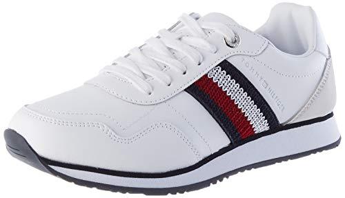 Tommy Hilfiger Damen Zoey 1a Sneakers, Weiß, 36 2/3 EU