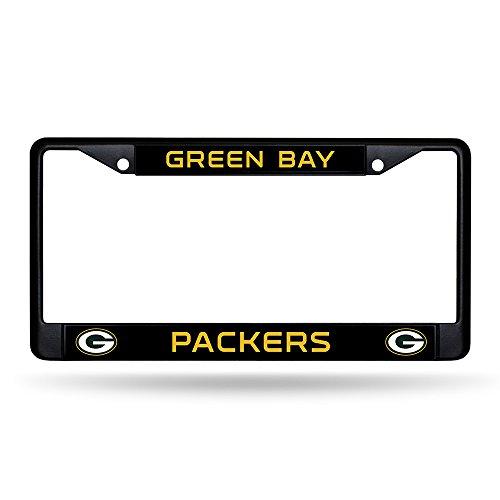 Rico Industries Packers Black Chrome Frame