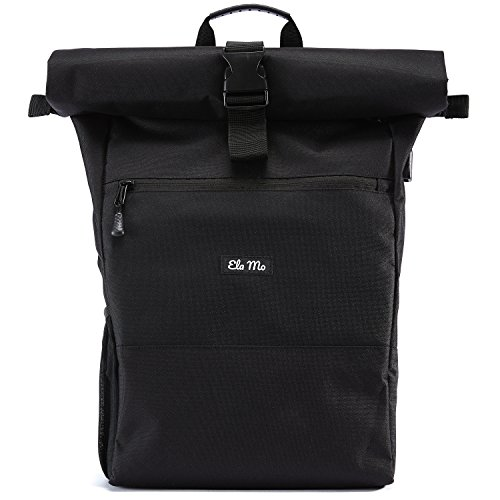 Ela Mo - Mochila para mujer (18 L), color Black Beautiful, tamaño medium, volumen 18liters