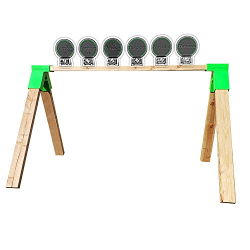 THROOM Alpha Stand Brackets for Making A Ricochet-Free Shooting Target Stand (2 Pack)