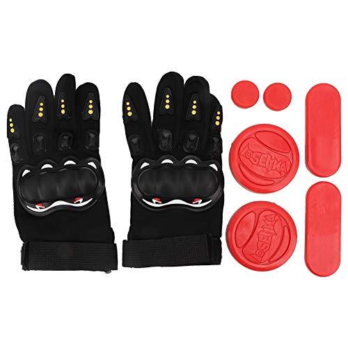 Alomejor Slide handschoenen Longboard handschoenen Speed Brake handschoenen handbescherming skateboard handschoenen skateboard handbescherming